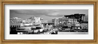 High angle view of buildings in a city, Rodeo Drive, Beverly Hills, California Fine Art Print