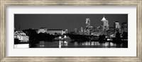 Philadelphia, Pennsylvania (black & white) Fine Art Print
