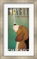 Beagle Martini Fine Art Print