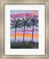 Sunset Trio Fine Art Print