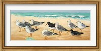 Seagulls and Sand Fine Art Print