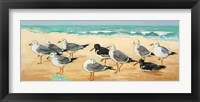 Seagulls and Sand Fine Art Print