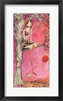 Big Eyed Girl Muffin Tree Fine Art Print