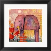 Flower Monger Elephant Fine Art Print