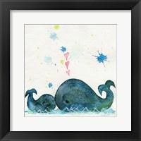 Love You Whales Fine Art Print