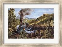 Smoke Steam & Timber Fine Art Print