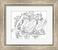 Love Drawing Fine Art Print