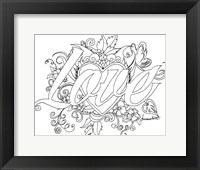 Love Drawing Fine Art Print