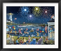 Seaside on the Fourth Fine Art Print
