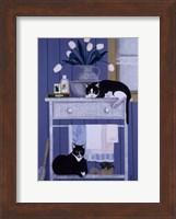 Oscar And Harold Fine Art Print