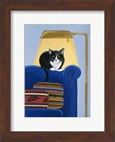 Catmandu Keeping Warm Fine Art Print