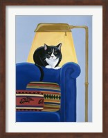 Catmandu Keeping Warm Fine Art Print