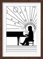 Piano Player 1 Fine Art Print
