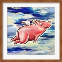 Flying Pig Fine Art Print