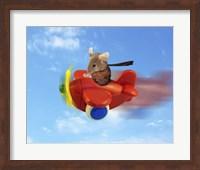 Flying Mouse Fine Art Print