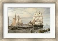 Drying Sails - New Bedford Fine Art Print
