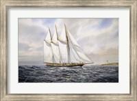 """Schooner  """"Atlantic"""" Fine Art Print"""