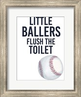 Little Ballers IV Fine Art Print