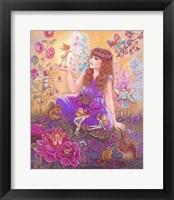 Fairies In My Garden Fine Art Print