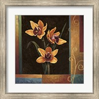 Yellow Orchids Fine Art Print