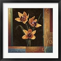 Yellow Orchids Fine Art Print