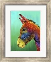 Spotted Donkey 1 Fine Art Print