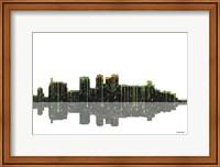 Birmingham Alabama Skyline BW 1 Fine Art Print