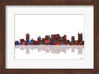 Nashville Tennessee Skyline 1 Fine Art Print