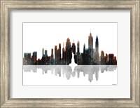 New York New York Skyline BW 1 Fine Art Print