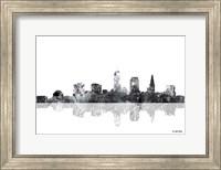 Cleveland Ohio Skyline BG 1 Fine Art Print