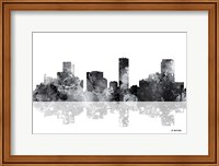 Denver Colorado Skyline BG 1 Fine Art Print