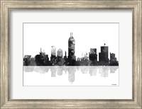 Indianapolis Indiana Skyline BG 1 Fine Art Print