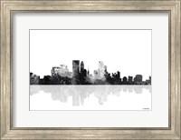 Minneapolis Minnesota Skyline BG 1 Fine Art Print