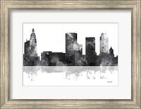 Tulsa Oklahoma Skyline BG 1 Fine Art Print
