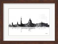 Washington DC Skyline BG 1 Fine Art Print