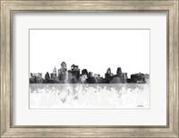 Kansas City Missouri Skyline Fine Art Print