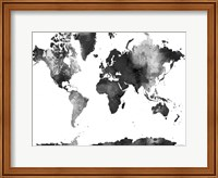 World Map BG 1 Fine Art Print