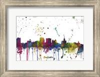 Buffalo New York Skyline Multi Colored 1 Fine Art Print