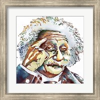 Albert Einstein Fine Art Print