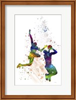 Basket Ball Player 1 Fine Art Print