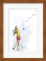 Golf Player 2 Fine Art Print