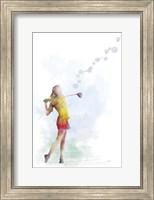 Golf Player 2 Fine Art Print