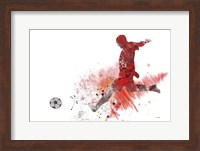 Soccer Player 1 Fine Art Print