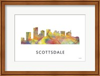 Scottsdale Arizona Skyline Fine Art Print