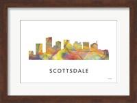 Scottsdale Arizona Skyline Fine Art Print