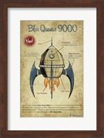 Blue Quasar Fine Art Print