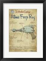 Freeze Ray Fine Art Print