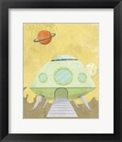 Kids Alien Fine Art Print