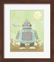 Kids Robot Fine Art Print