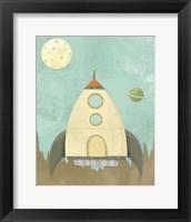 Kids Spaceship Fine Art Print